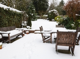Winter care for garden furniture